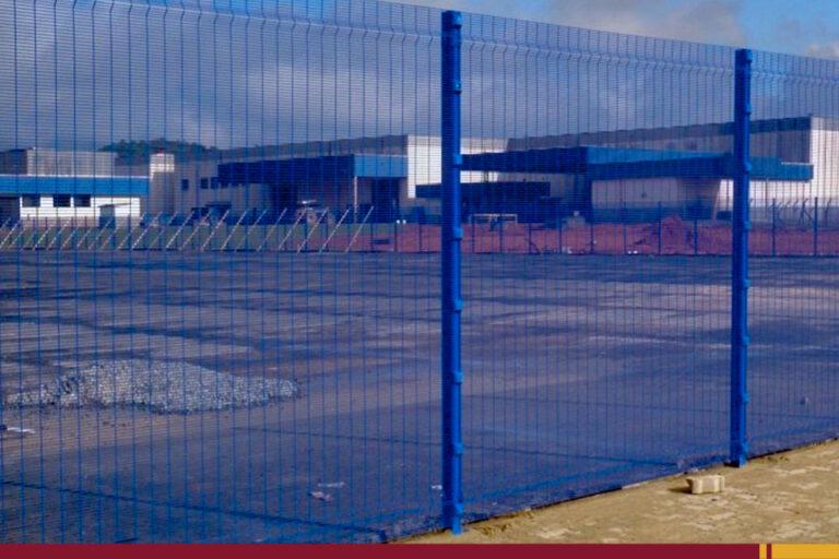 Gradil Belgo Securifor - máxima segurança com alta visibilidade