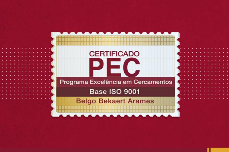 Empresa certificada é garantia de excelência no cercamento