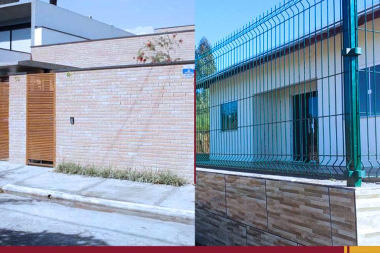 Muro ou cerca: qual opção protege melhor sua casa?