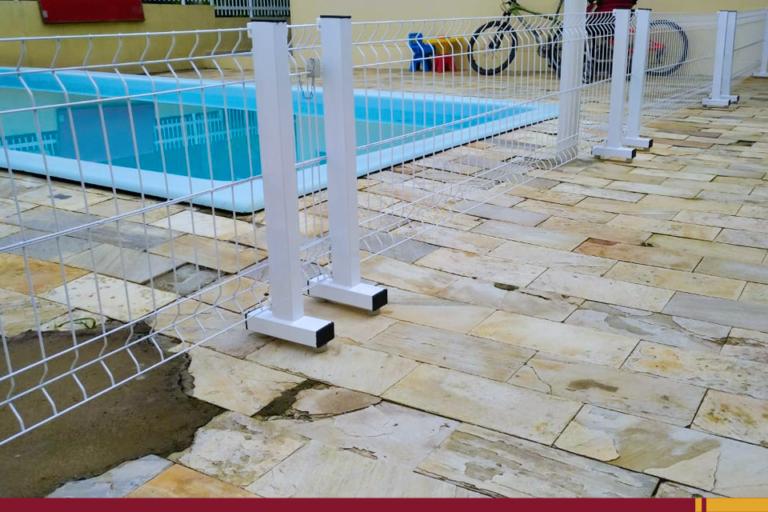 Cerca de proteção para piscina: conheça o modelo Multiuso da Cercas Cattoni!
